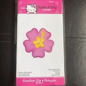 Sizzix Hello Kitty Sanrio Flower Die *NIB*